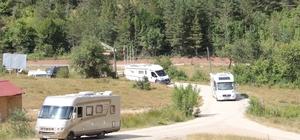 Kamp karavan turizminin ilgisi Karadeniz'e yöneldi Deniz, kum, güneş ve kültür turizmi fırsatı sunan Karadeniz karavancıların yeni gözdesi oldu