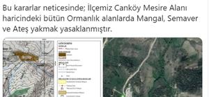 Gölova ilçesinde ormanlık alanlarda da mangal, semaver ve ateş yakmak yasaklandı Sivas'ın Gölova ilçesinde 1 mesire alanı hariç bütün ormanlık alanlarda; mangal, semaver ve ateş yakmak yasaklandı