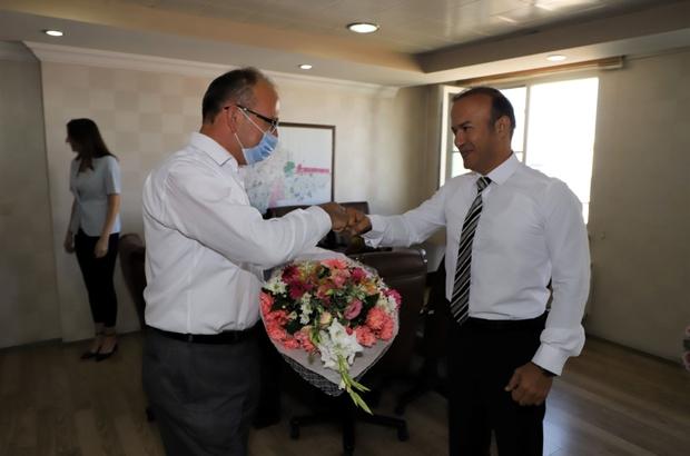 Başkan Çetin Akın'dan Harun Tutak'a ziyaret