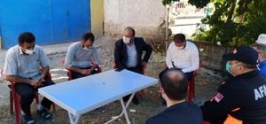 """Kavuncu'dan Çetin ailesine taziye ziyareti AK Parti Çorum milletvekili Erol Kavuncu; """"Devletimiz tüm kurumlarıyla ailelerimizin yanında"""""""