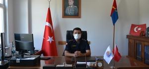Yenice İlçe Jandarma Komutanı Arıkan göreve başladı
