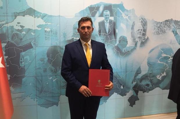 Yeni AK Parti Gerze İlçe Başkanı belli oldu