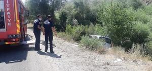Erzurum'da Trafik Kazası: 1 ağır yaralı