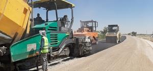 Karatay'da asfalt çalışmaları sürüyor