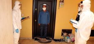 Yozgat'ta 'mahalle denetim ekipleri' evlerde Covid-19 denetimi yaptı