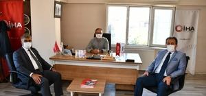 Vali Gürel, İHA ziyaretinde koronavirüsle mücadeleyi aktardı