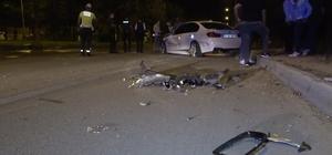 Kaza yaptırdı, ortadan kayboldu Isparta'da iki otomobil çarpıştı: 3 yaralı