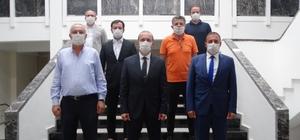 Trabzon Arsin OSB Yönetimi'nden KTÜ Rektörü Çuvalcı'ya ziyaret