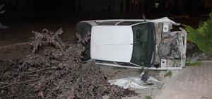 Kaza yaptığı otomobilini olay yerinde bırakıp gitti