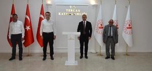 Milletvekili Çakır'dan Kaymakam Çelik'e ziyaret