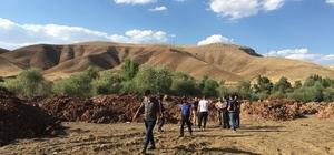 Kayıp kişiyi arayan AFAD ekibi, toprağa gömülü ceset buldu