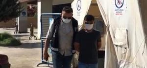 19 yıl 11 ay hapis cezası olan şahıs saklandığı saman balyaları arkasında yakalandı