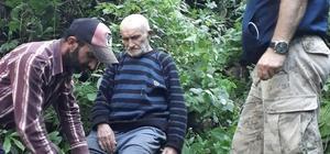 Şalpazarı'nda 95 yaşındaki alzheimer hastası kayıp şahıs bulundu