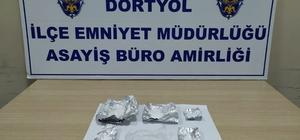 Dörtyol'da uyuşturucu operasyonu: 2 tutuklama
