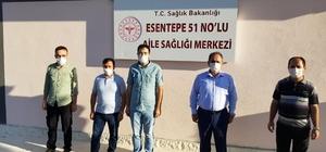 Demir, Esentepe Aile Sağlığı Merkezini ziyaret etti