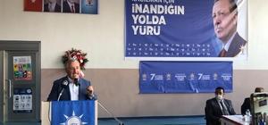 """Ak parti Kağızman 7. Olağan kongresi yapıldı Milletvekili Arslan; """"Ak Parti hayali bile düşünülemeyen hizmetleri gerçekleştirdi"""""""
