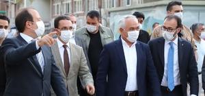 İçişleri Bakan Yardımcısı Mehmet Ersoy Cizre'de