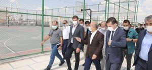 Mardin Valisi Demirtaş Nusaybin'de incelemelerde bulundu