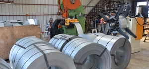 Sinop'tan Azerbaycan'a metal kiremit ihracı