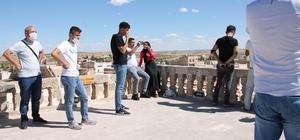 Mardin'de dizi çekimleri başladı, kente gelen turist sayısı arttı