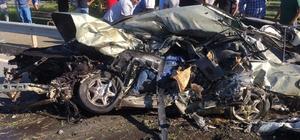 Tır aracı otomobili biçti: 1 ölü