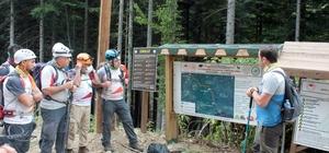 Alternatif turizme yönelen Batı Karadeniz'de yeni kamp alanları ve trekking rotaları belirleniyor Kamp alanları belirlenerek, trekking rotaları oluşturuluyor