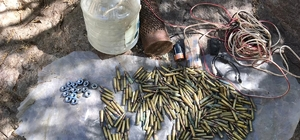 Bingöl'de terör operasyonu, EYP ve mühimmat ele geçirildi