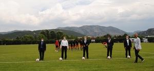 1. Eğirdir Futbol Zafer Kupası heyecanı başladı