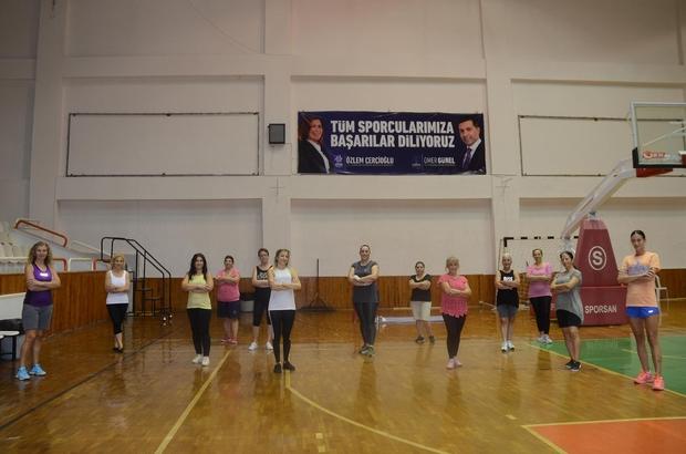 Başkan Günel'den kadınlar için spor seferberliği