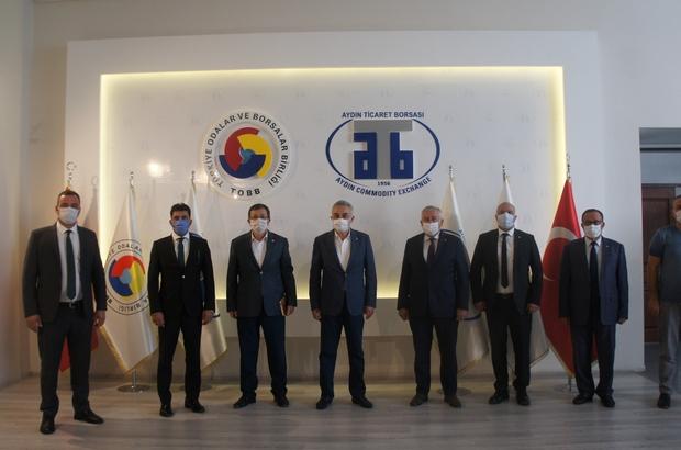 AK Partili Savaş ve Erim ATB'yi ziyaret etti