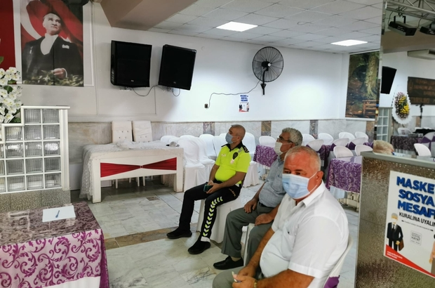 Aydın'da şoförlere 'Güvenli sürüş' eğitimi verildi