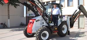 Beylikova Belediyesi'ne sıfır iş makinesi alındı