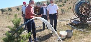Tosya'da Kilkuyu köyünde su arama çalışmaları sürüyor