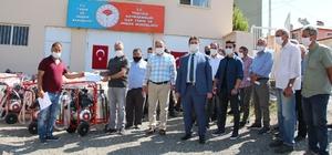 Tuzluca'da Hayvan Yetiştiricilerine Süt Sağım makinesi dağıtıldı