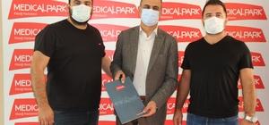 Elazığ Karakoçan FK'ya, Medical Park Hastanesi sağlık sponsoru oldu