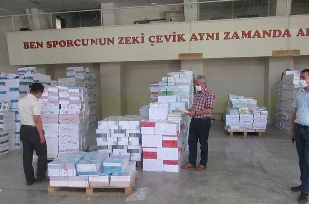 Amasya'da 213 bin 500 kitap dağıtıldı
