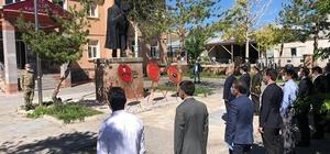 Çıldır'da 30 Ağustos Zafer Bayramı salgın tedbirleri ile kutlandı