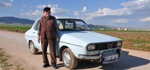 48 yıldır gözü gibi baktığı otomobili ile tanınmıştı, korona virüse yenik düştü