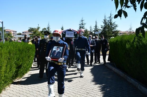 Vefat eden Kore Gazisi törenle defnedildi