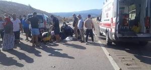 Karabük'te trafik kazası: 8 yaralı
