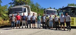 Sinop'ta 2 ayda 170 kilometrelik yol asfaltla buluşturuldu