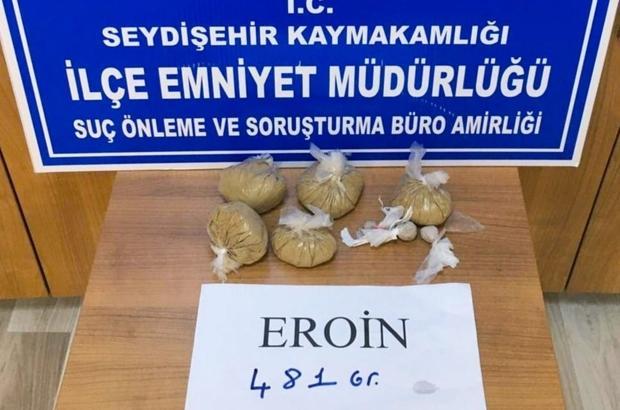 Konya'da 10 kilo uyuşturucu yakalandı