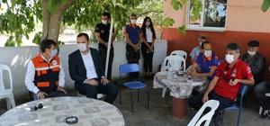 Edirne'de orman köylülerine orman yangını eğitimleri veriliyor
