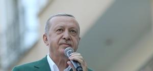 """Cumhurbaşkanı Erdoğan: """"Devlet felaketin ilk anından itibaren tüm kurumları ve imkanları ile vatandaşının yardımına koşmuştur"""""""