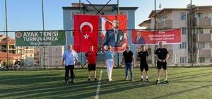 Bilecik Belediyesi Ayak Tenisi Turnuvası' etkinliği başladı