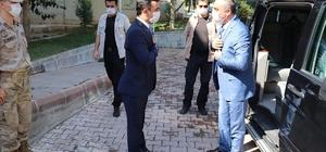 Vali Soytürk Polateli ilçesinde incelmelerde bulundu
