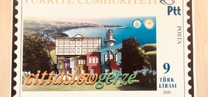 Gerze'ye özel posta pulu