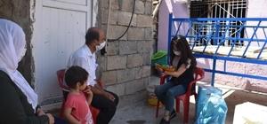 Evi yanan aileye Mardin Büyükşehir Belediyesi sahip çıktı