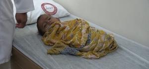 Uzuvları olmayan İdlibli bebek Türkiye'de tedavi altına alındı İçişleri Bakanı Soylu devreye girmişti, minik bebeğe protez kol ve bacak takılması bekleniyor