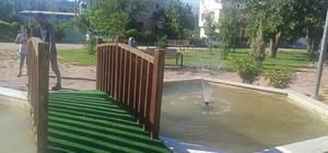 Gölbaşı ilçesinde parkların bakım ve onarımı devam ediyor